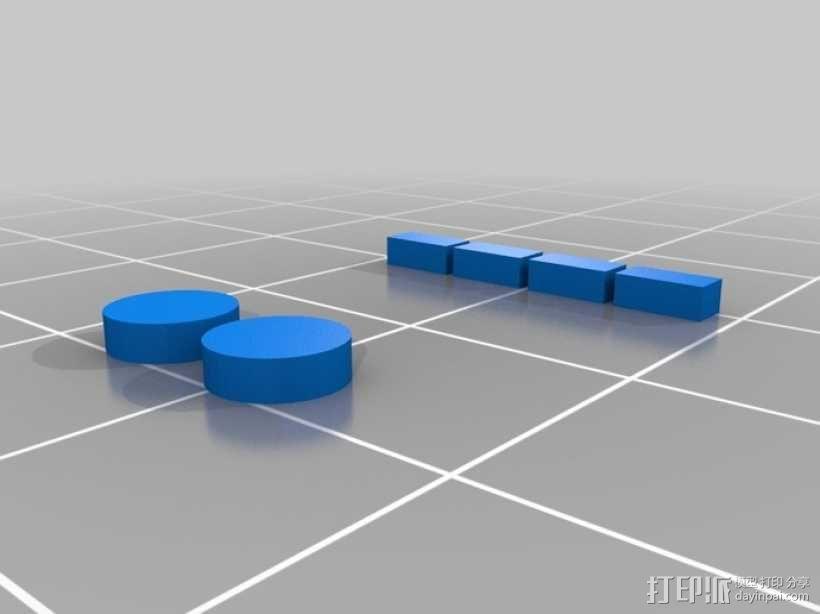 Arduino Esplora电路板外壳 3D模型  图11