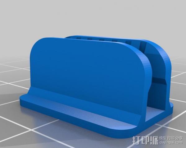 LED灯固定夹 3D模型  图1