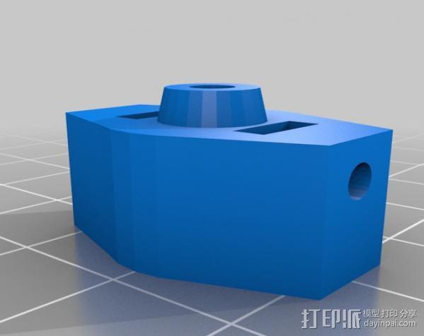 四轴飞行器支柱保护装置 3D模型  图4