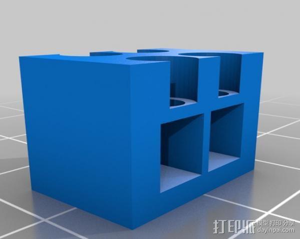LED聚光灯 支架 3D模型  图5