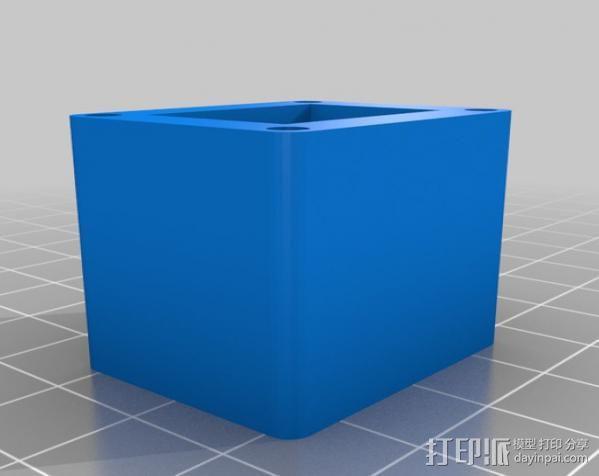LED聚光灯 支架 3D模型  图7