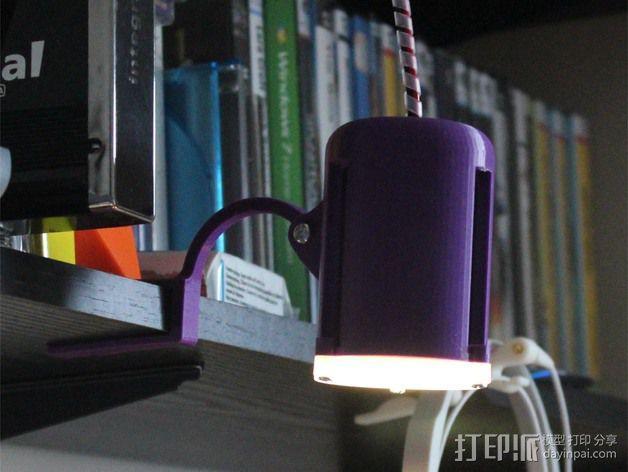 LED聚光灯 支架 3D模型  图8