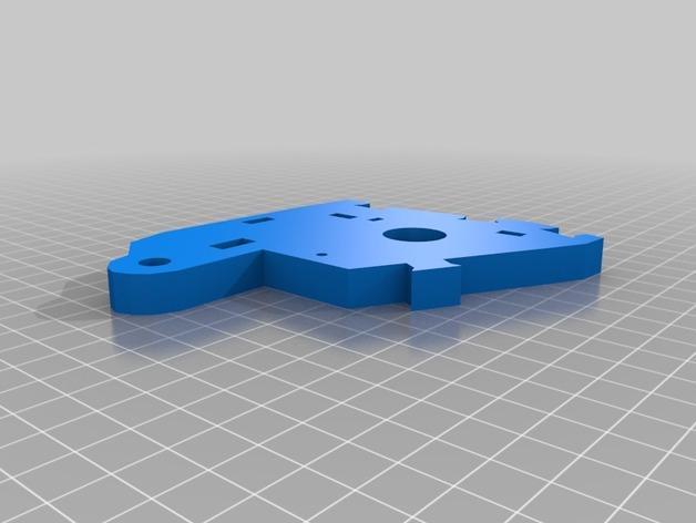 """InMoov""机器人的肩膀 3D模型  图3"
