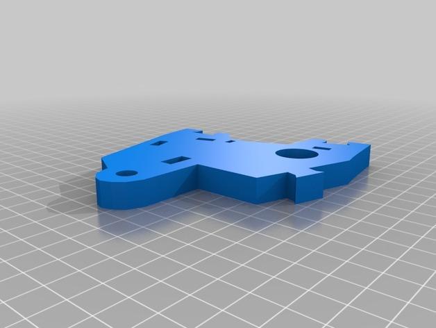 """InMoov""机器人的肩膀 3D模型  图4"