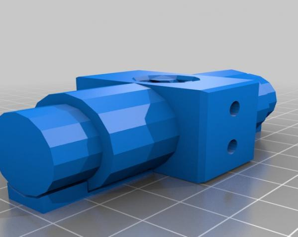 """InMoov""机器人的肩膀 3D模型  图6"