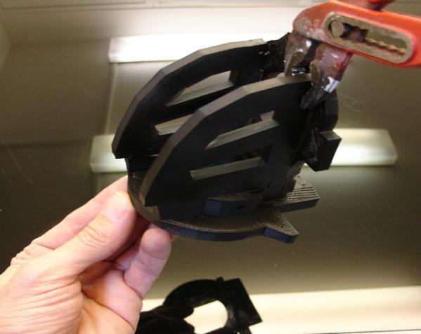 """InMoov""机器人的肩膀 3D模型  图8"