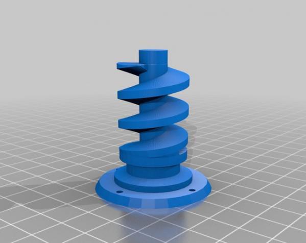 """InMoov""机器人的肩膀 3D模型  图12"