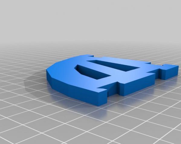"""InMoov""机器人的肩膀 3D模型  图14"
