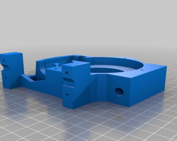 """InMoov""机器人的肩膀 3D模型  图13"