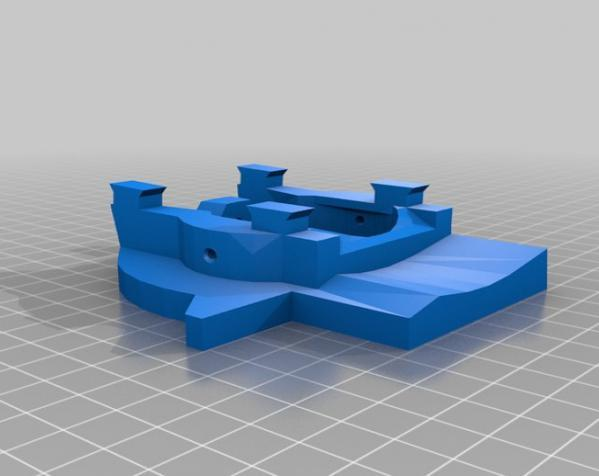 """InMoov""机器人的肩膀 3D模型  图15"