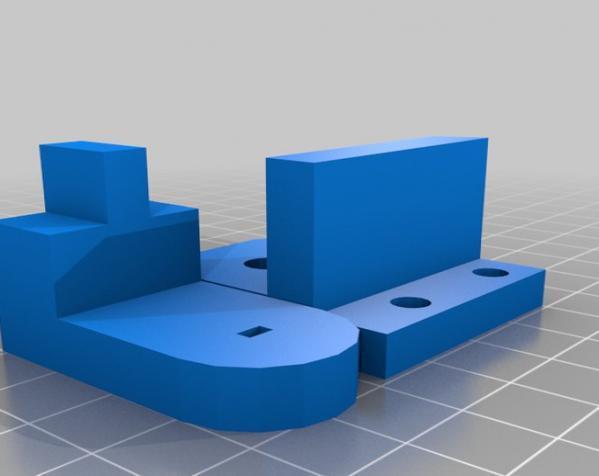 """InMoov""机器人的肩膀 3D模型  图16"