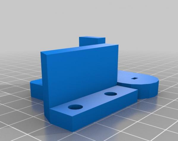 """InMoov""机器人的肩膀 3D模型  图17"