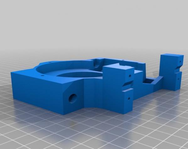 """InMoov""机器人的肩膀 3D模型  图19"
