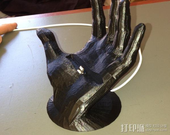 神来之手 iPhone 5手机架 3D模型  图2