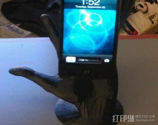 神来之手 iPhone 5手机架 3D模型  图3