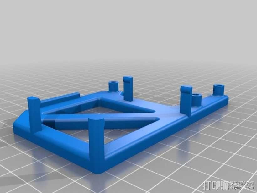 Arduino Uno电路板支架 3D模型  图1