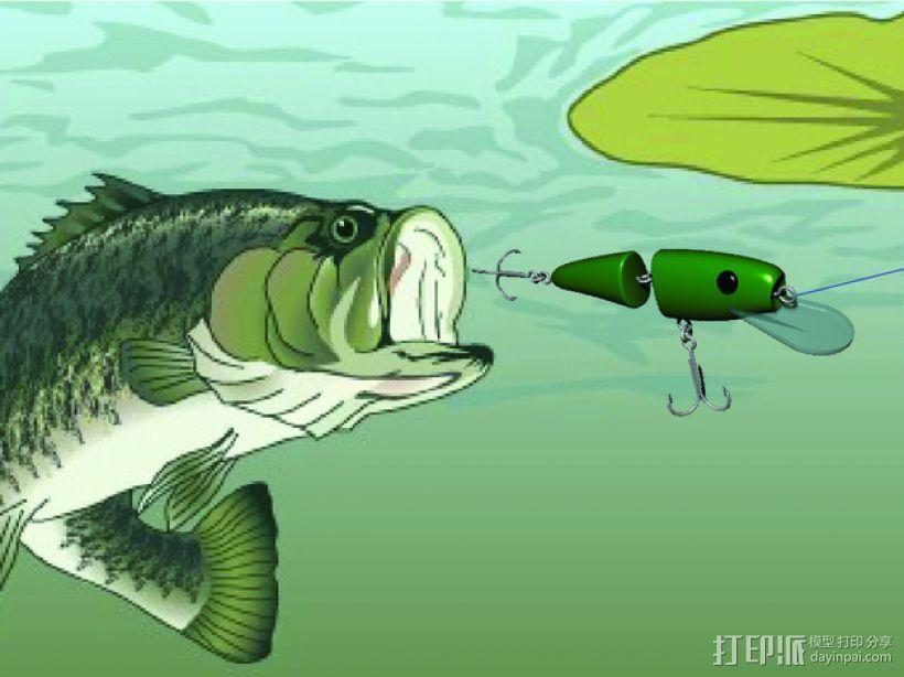 鱼漂 3D模型  图5