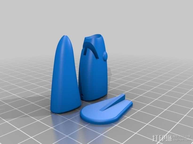 鱼漂 3D模型  图7