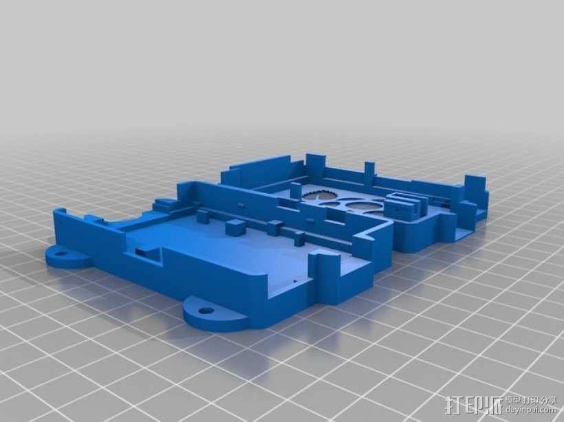 Super-Pi树莓派外壳  3D模型  图1
