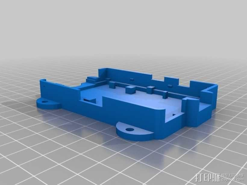 Super-Pi树莓派外壳  3D模型  图8