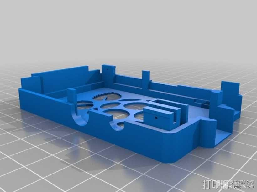 Super-Pi树莓派外壳  3D模型  图7