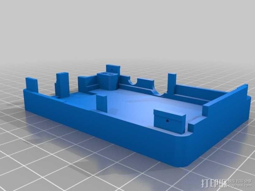 Super-Pi树莓派外壳  3D模型  图10