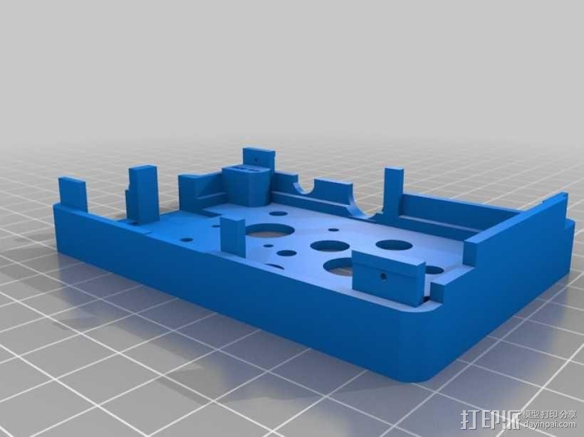 Super-Pi树莓派外壳  3D模型  图11