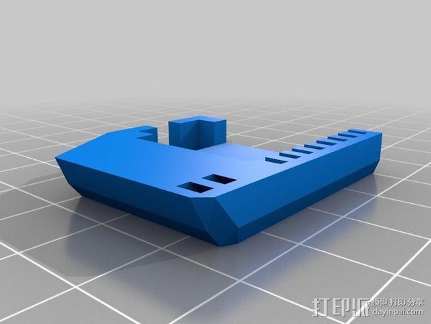 InMoov机械手 手腕 3D模型  图2