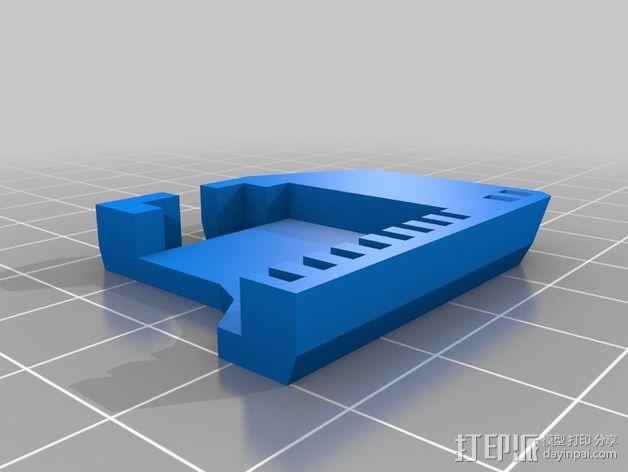 InMoov机械手 手腕 3D模型  图3