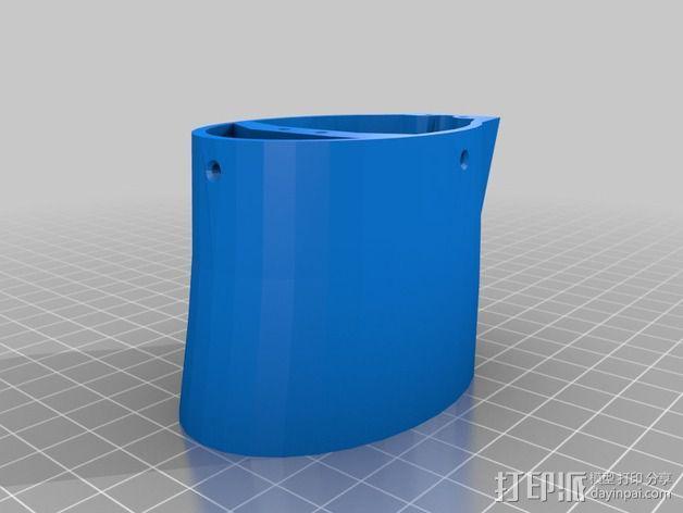 InMoov机械手 手腕 3D模型  图4