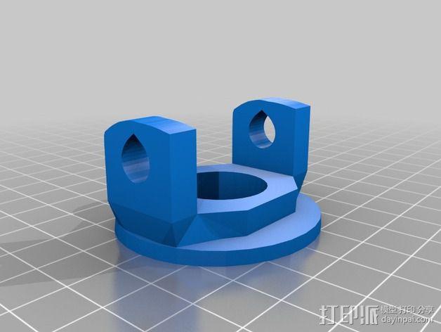 InMoov机械手 手腕 3D模型  图7