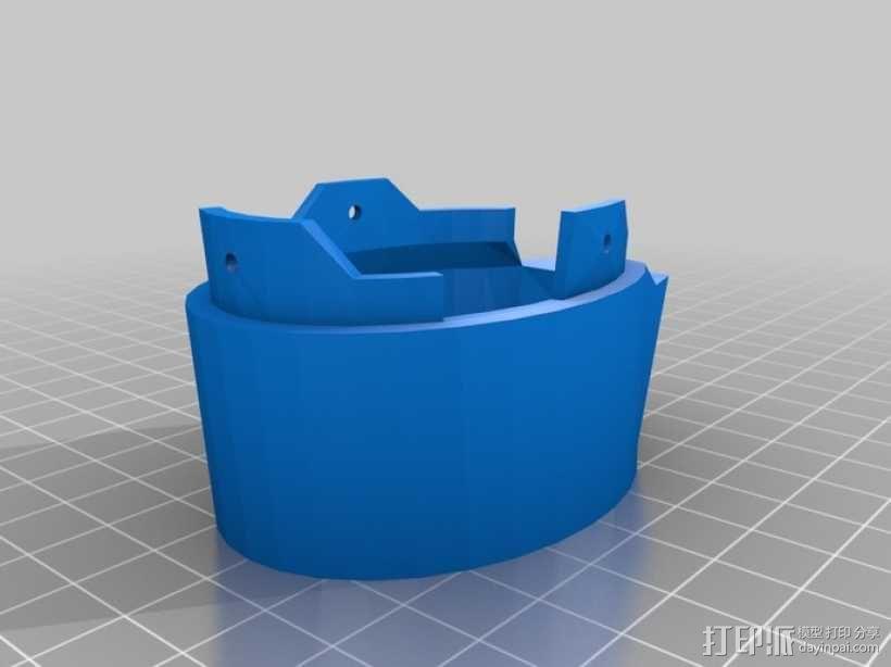 InMoov机械手 手腕 3D模型  图8