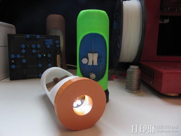 3D打印的电路板 3D模型  图5