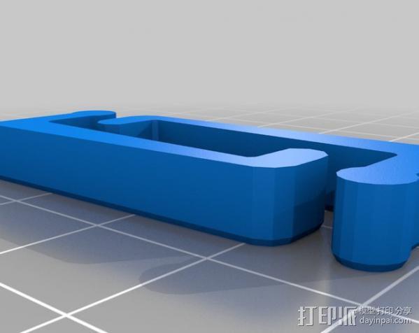 PCB虎钳夹 3D模型  图5