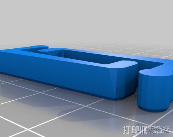 PCB虎钳夹 3D模型  图4