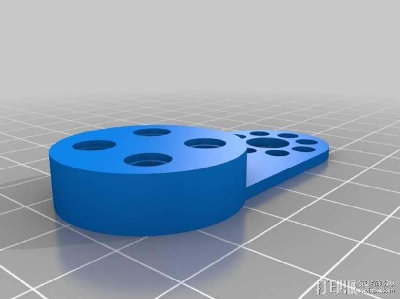 NXT电机驱动连接装置 3D模型  图2