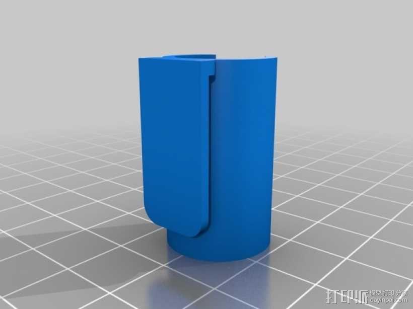 电子烟 置放架 3D模型  图3