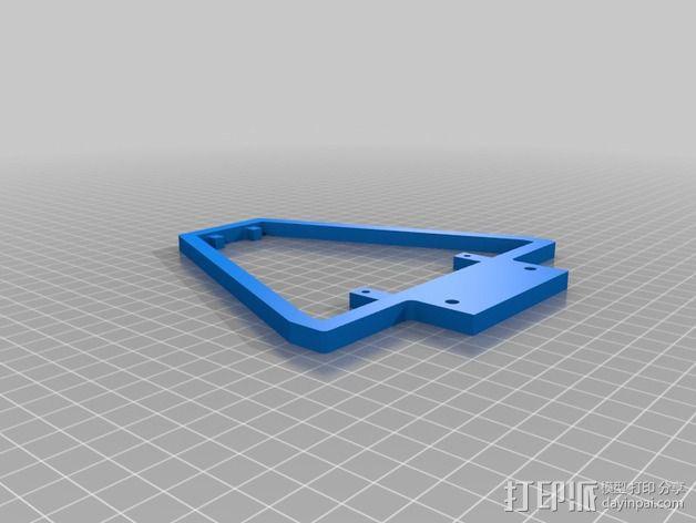 PCB LPDA天线 天线罩  3D模型  图2