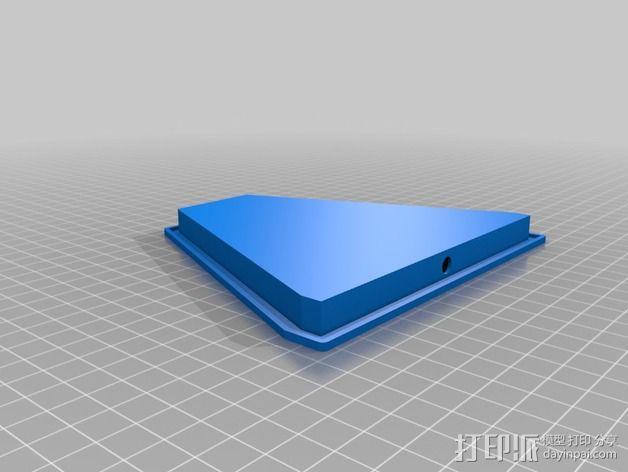 PCB LPDA天线 天线罩  3D模型  图3