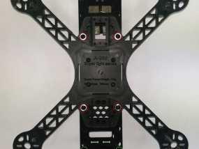 FPV250飞行器 起落架 3D模型