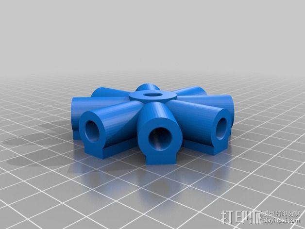 7.5毫米箭头连接器 3D模型  图2