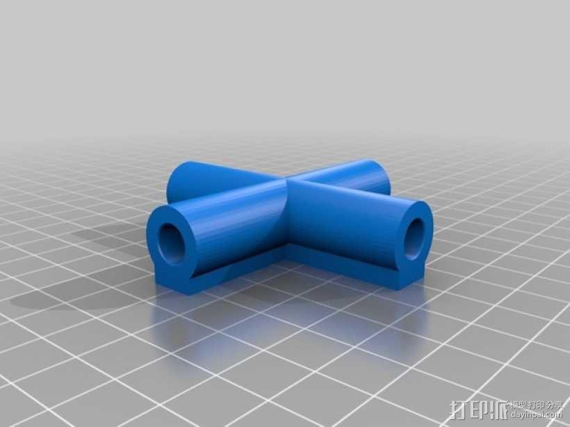 7.5毫米箭头连接器 3D模型  图1