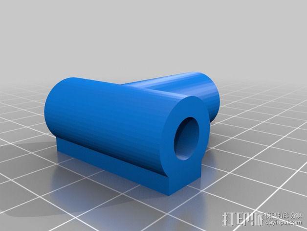 7.5毫米箭头连接器 3D模型  图3