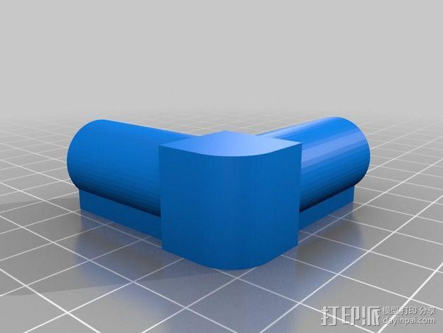 7.5毫米箭头连接器 3D模型  图4