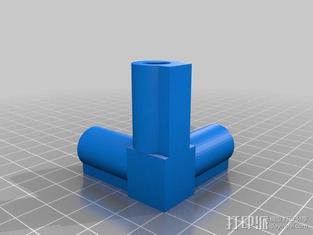 7.5毫米箭头连接器 3D模型  图5
