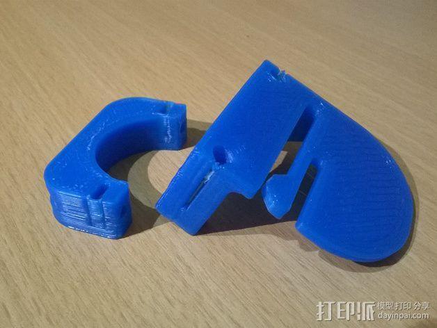 自行车灯固定夹 3D模型  图5