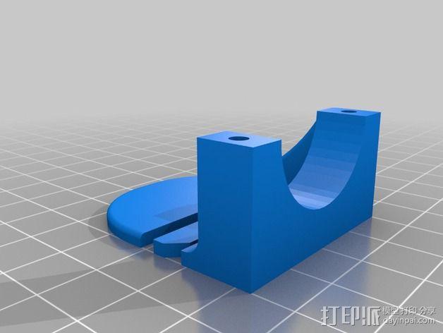 自行车灯固定夹 3D模型  图6