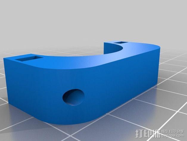 自行车灯固定夹 3D模型  图7
