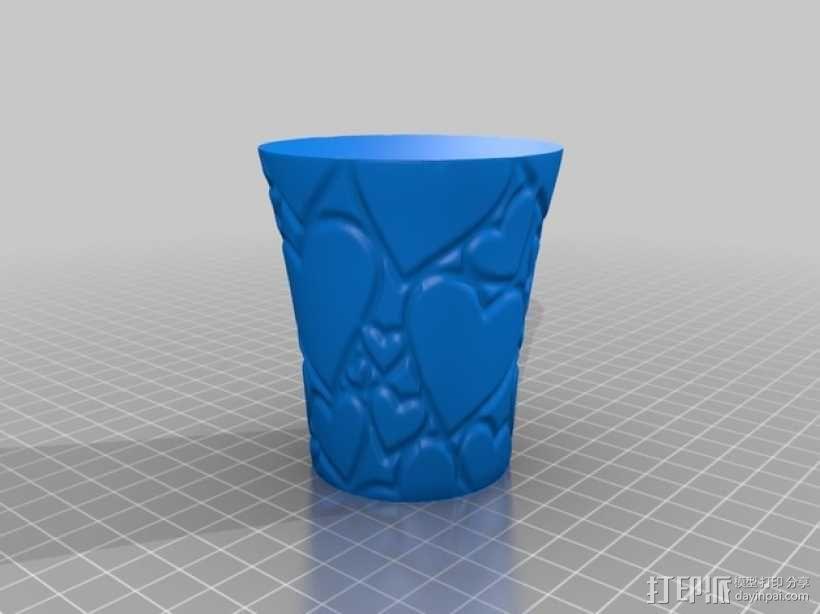 敞口杯 3D模型  图2