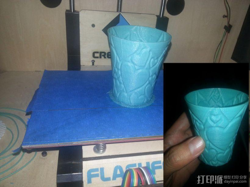 敞口杯 3D模型  图3